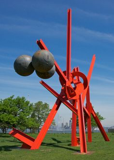 Storm King Art Center. At Governor's Island. NYC. May 26 - Sept. 30 2012. Mark di Suvero,