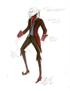 Rumplestiltskin. Once Upon a Time: Nominated for 2012 Emmy® for Outstanding Costume Design: by Costume Designer, Eduardo Castro and Assistant Costume Designer, Monique McRae.