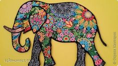quilling elephant - Cerca con Google