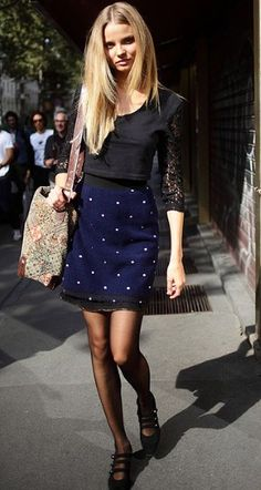 Best Dressed: Magdalena Frackowiak - Helena Bordon