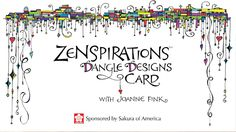 Zenspirations Dangle Designs for Lettering and Handmade Cards - Easy & E...
