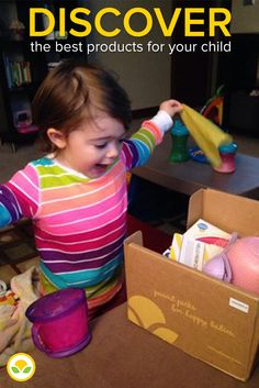 Delight and Discovery Delivered! Thrill your child with a surprise box of best products customized to their age and stage. Enter code PINTEREST to get 50% off your 1st box. Ends at 11:59 PM PST, 10/31/2014.