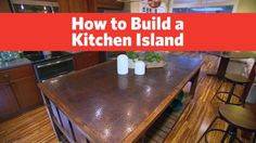 New kitchen storage video island diy ideas Woodworking Bench Plans, Woodworking Videos, Woodworking Jointer, Youtube Woodworking, Workbench Plans, Woodworking Books, Kitchen Storage, Kitchen Decor, Kitchen Ideas