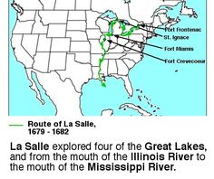 map of route from atlantic ocean to mississippi river - Google Search