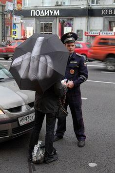 'FUCK THE RAIN' UMBRELLA - I need one. ( whokilledbambi.co.uk)