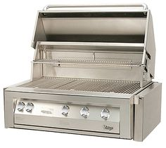 """Vintage Luxury 42"""" Vintage Gold Built In Grill - Natural Gas (LP Kit incl.) 