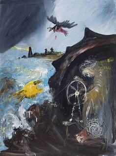 ARTHUR BOYD (1920- 1999) Potter and the Seashore