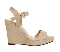 Buy Nude Office Mai Tai Two Part Wedge Sandals from OFFICE.co.uk.