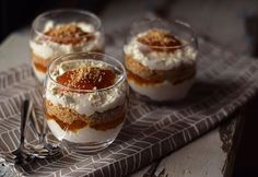 Chia Puding, Desserts In A Glass, Breakfast Recipes, Dessert Recipes, Christmas Desserts, Cakes And More, No Bake Cake, My Recipes, Cupcake Cakes