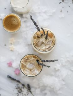 This lavender latte is a spring dream come true! It starts with a homemade lavender vanilla syrup that is super flavorful and can be use in cocktails too! The espresso and milk make for the creamiest, dreamiest coffee ever! Vanilla Milk, Vanilla Syrup, Iced Tea Recipes, Coffee Recipes, Drink Recipes, Mobile Coffee Cart, Lavender Syrup, Coffee Drinks, Coffee Coffee