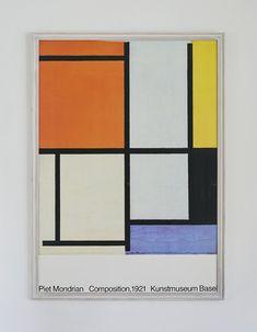 Piet Mondrian Poster 1986 – hellethygesen.com Piet Mondrian, Poster Making, Frame, Art, Museum Of Art, Picture Frame, Art Background, Kunst, Performing Arts