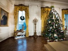 The East Room 2014 Christmas at the White House