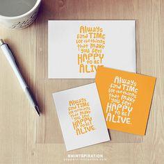 Free printable pocket journal card. Mintspirational Monday at peppermintcreative.com #projectlife #journalcard #freeprintable