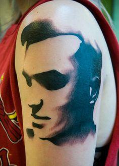 Morrissey Tattoo by Silje Hagland at Scapegoat Tattoo in Portland, Oregon