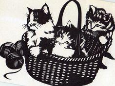 Vintage Kittens