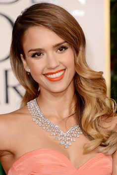 Jessica Alba - Golden Globe Awards
