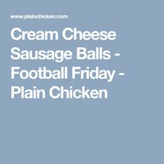 Cream Cheese Sausage Balls - this recipe will change the way you make sausage ball forever! Only 4 ingredients. Seriously THE BEST sausage balls EVER! Best Sausage, Cheese Sausage, New Recipes, Cooking Recipes, Favorite Recipes, Ham And Cheese Roll Ups, Cream Cheese Ball, Sausage Balls, Cheese Rolling