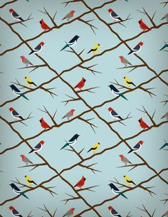 Create A Seamless Birds Pattern And Give It A Retro Touch   Vectortuts+