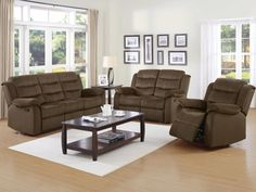 Elderberry Berry Microfiber Polyester Wood Living Room Set Captivating Discount Living Room Sets Design Ideas
