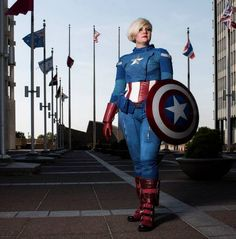 Rule 63 Captain America by Seams Geeky Cosplay