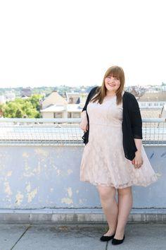 kathastrophal.de - Plus Size Outfit: Sommerspitze - Kleid von Paprika via Otto
