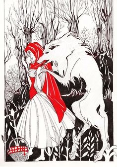 Little Red Riding Hood_ by MadCheshCat on DeviantArt