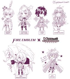 "cynphonium: "" FE x MM crossover - RFA members """