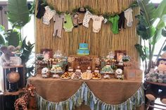 Baby safari party