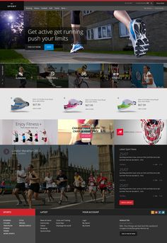 Dribbble - Sports_Website_FREEBIE-Full.jpg by Benn Raistrick