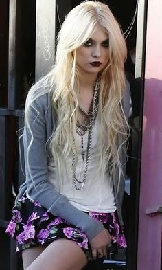 taylor momsen style - Google Search