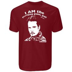 Entourage Men's Special Edition 'I Am The Game' T-Shirt Chasing Quotes, Kings Game, Entourage, I Am Game, Mens Tops, T Shirt, Stuff To Buy, Shopping, Drama