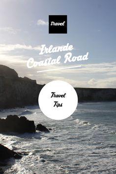 Ireland - Irlande The Coastal Road Travel Tips - Map