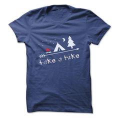 take a hike to camp T-Shirts.
