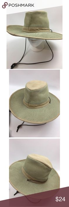f2f0dbc014041 Q Aussie Breezed Crushable Spf Mesh Hat Henschel Hat Co Men s Aussie  Breezed Crushable Spf Mesh
