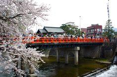 spring Takayama in japan
