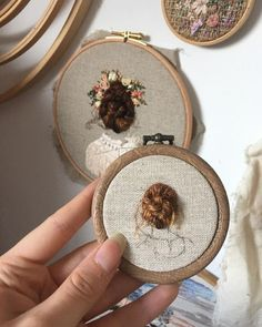 Embroidery Stitches Design - Embroidery Stitches Design No. 2 Blossom is the only hand embroidery art piece … - Hand Embroidery Stitches, Crewel Embroidery, Embroidery Hoop Art, Hand Embroidery Designs, Ribbon Embroidery, Cross Stitch Embroidery, Embroidery With Beads, Diy Broderie, Sewing Crafts