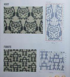 Fair Isle Knitting Patterns, Knitting Machine Patterns, Knitting Charts, Loom Knitting, Hand Knitting, Crochet Chart, Filet Crochet, Scarf Crochet, Mosaic Patterns