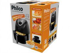 Fritadeira Elétrica Philco Air Fry Saúde - 3L com Timer com as melhores condições você encontra no Magazine Jsantos. Confira!