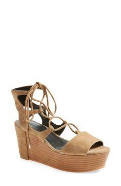 REBECCA MINKOFF 'Cady' Wedge Sandal (Women). #rebeccaminkoff #shoes #sandals
