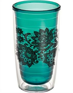 Tervis Tumbler.  Obsessed.  Whether it's a fruity drink or ice water at work, these are perfect!  And so easy to carry around without spilling for a klutz like me