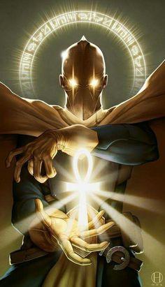 Dc Universe 421790321332733179 - dr fate Source by jlacrosaz Marvel Dc Comics, Ms Marvel, Dc Comics Art, Image Comics, Dc Heroes, Comic Book Heroes, Comic Books Art, Comic Art, Book Art