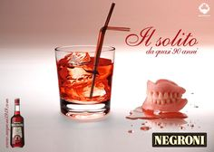 Print ADV for Negroni Old - Contest, ITA 2009.