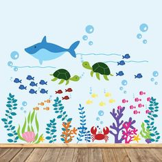 Image result for fishy theme scenery