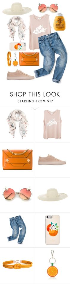 """""""Dina"""" by elshakalaka ❤ liked on Polyvore featuring Caslon, STELLA McCARTNEY, Common Projects, Jennifer Ouellette, Kate Spade, Barneys New York and Sol de Janeiro"""
