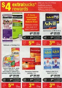 CVS: Children's Advil under a dollar per bottle (Possibly FREE!)
