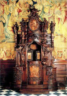 Andrea Fantoni Santa Maria Maggiore, Italian Baroque, Homeland, Clock, Landscape, Architecture, Painting, Interior, Furniture