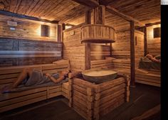 Switzerland - Luxury Spas Selection -  St Moritz - Herbal Sauna