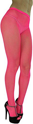 ToBeInStyle Women's Sexy Seamless Fishnet Full Footed Panty Hose Tights Hosiery - HOT PINK - One Size Regular ToBeInStyle http://smile.amazon.com/dp/B00UO0FCP4/ref=cm_sw_r_pi_dp_b7jwwb083C7NZ