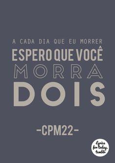 CPM22 - Não sei viver sem ter você