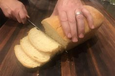 While the shelves are bare and you've got the time — bake bread! How To Make Bread, Food To Make, Sandwich Bread Recipes, Paper Roses, Freshly Baked, Unsalted Butter, Bread Baking, Tissue Paper, Sandwiches